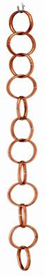 Single Link - Polished Copper Japanese Rain Chains