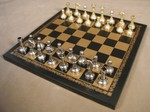 Metal & Pewter Chess Sets