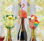 Wine Bottle Stopper Figurine Toppers