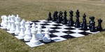 Large Garden Outdoor Chess Sets