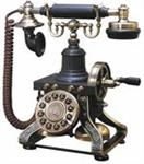 European Antique Brass Phones