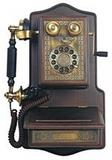Wooden Antique Telephones