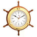 Brass Nautical Clocks and Instruments