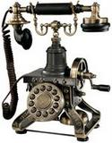 Brass Antique Phones