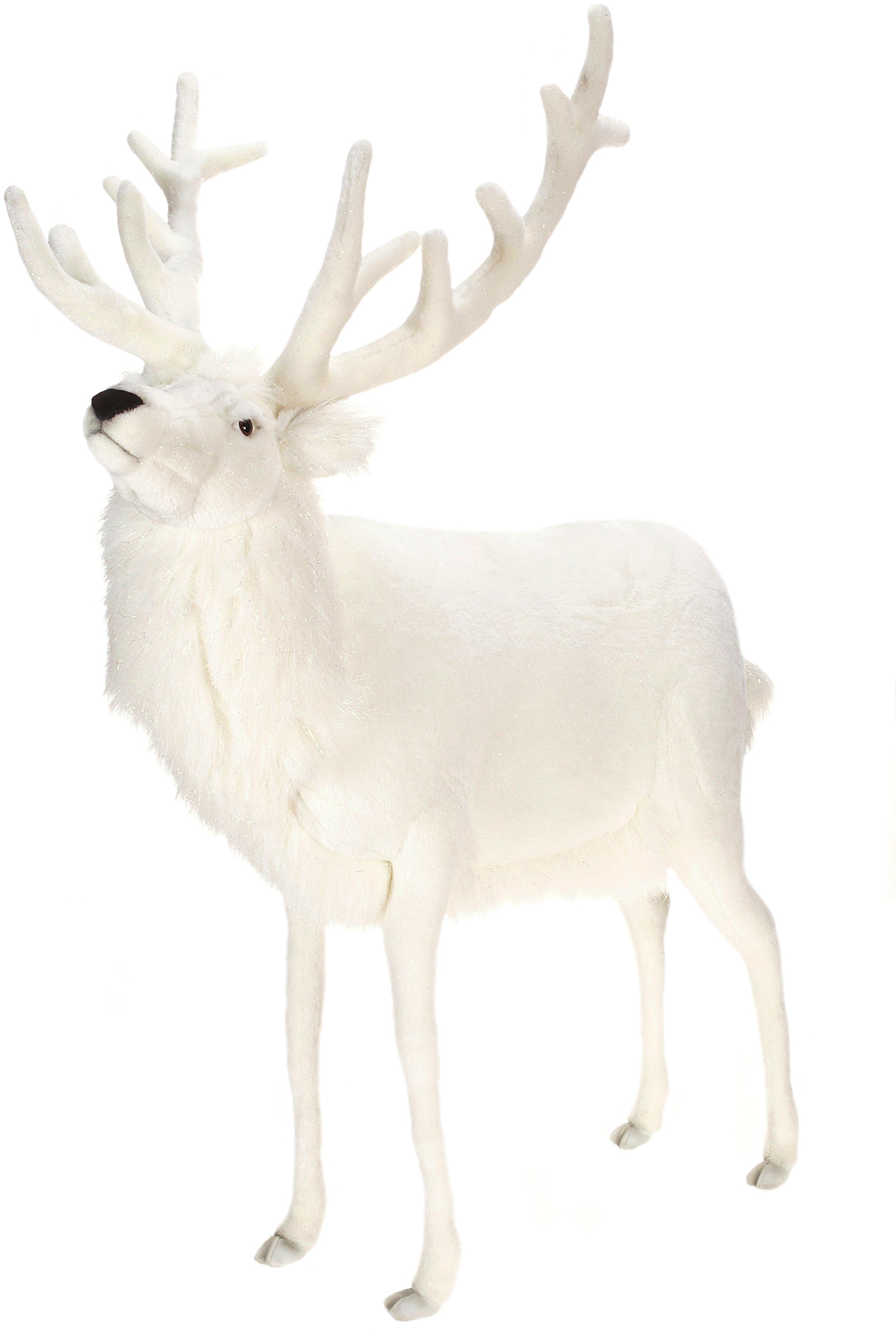48 Quot White Deer Stuffed Animal