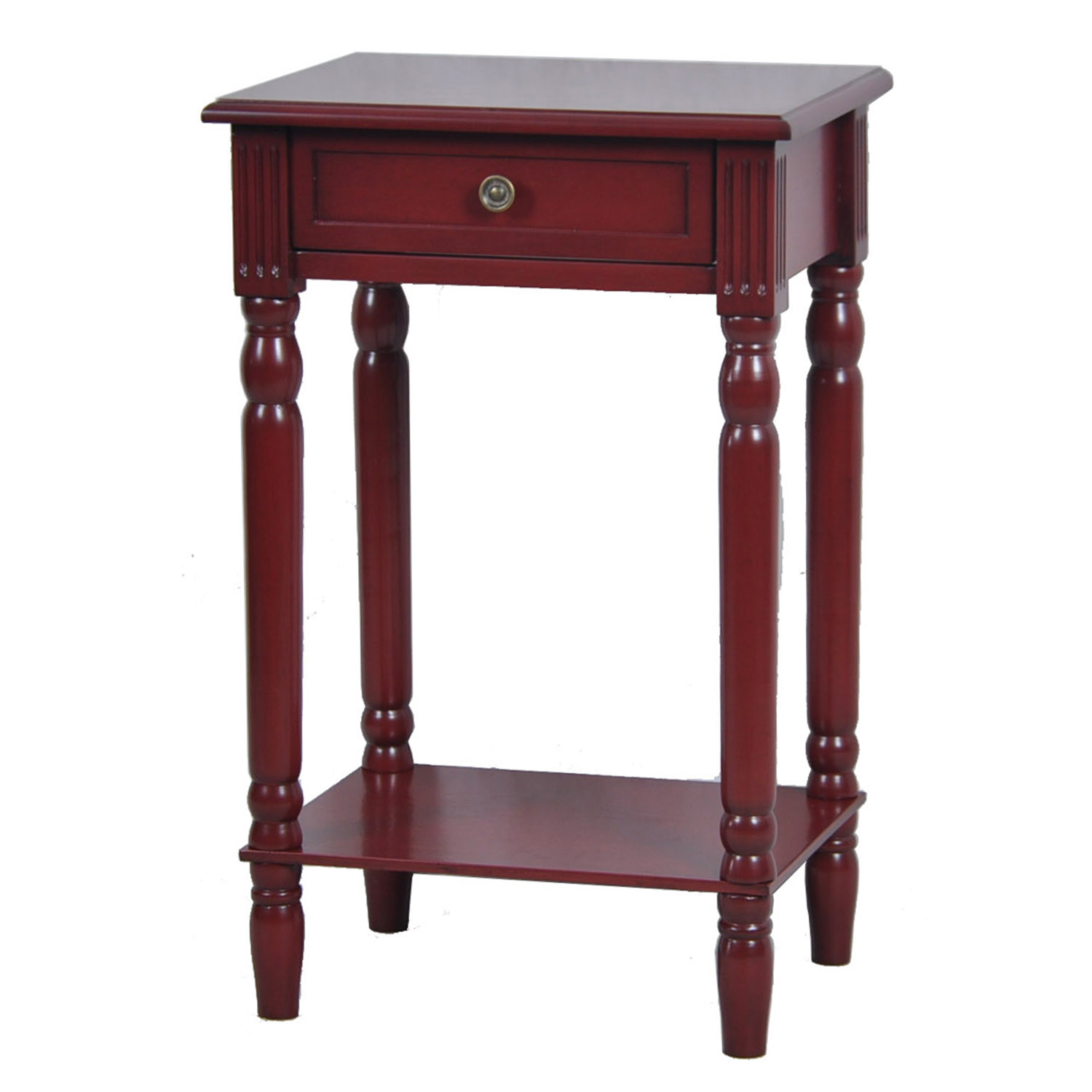 vivid collection distressed red furniture
