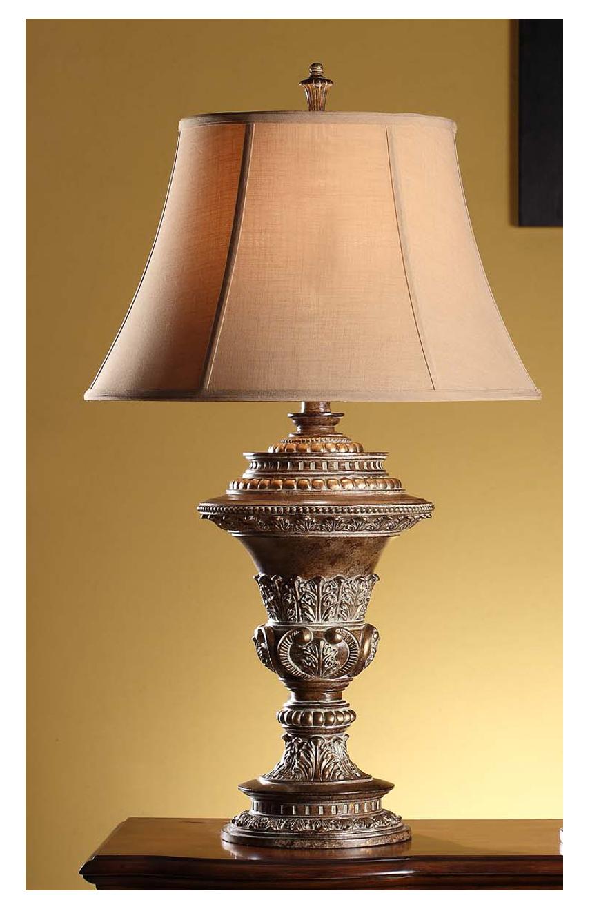 Lucienne In Regency Bronze Gold Amp Resin Table Lamp