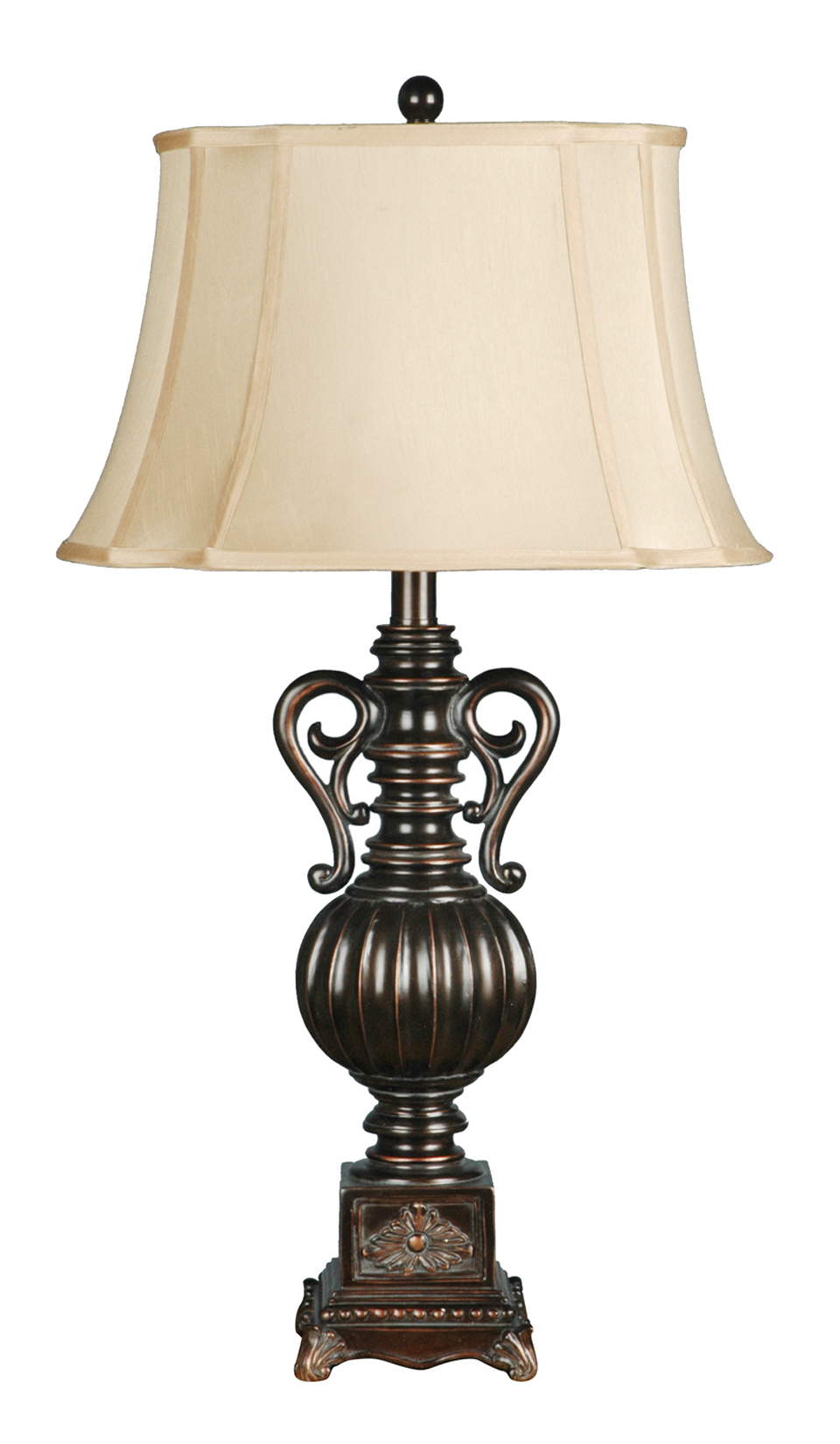 Moira 34 Quot Black Bronze Gold Amp Resin Table Lamp