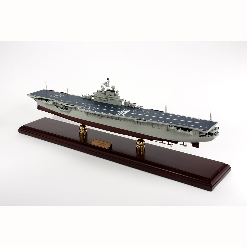 USS Intrepid Model Ship 1/350 Scale Boats and Submarines by WorldToHome.com