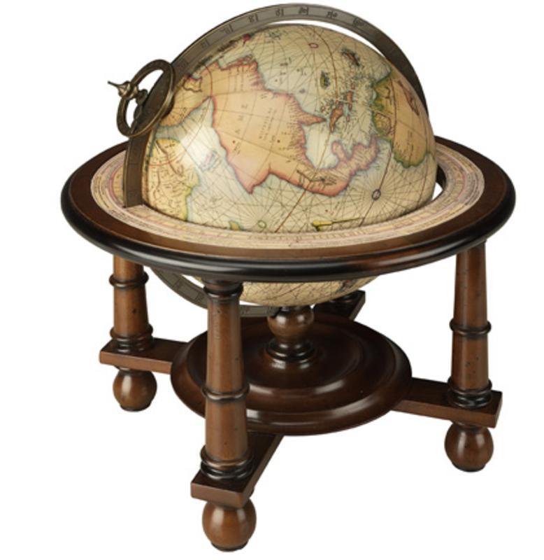 navigator s terrestrial globe nautical accent decor