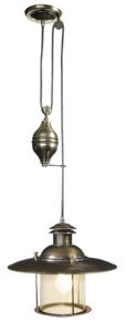 French Lantern, Electric Nautical Lighting