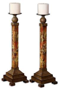 Hana Decorative Candleholder (Set Of 2)