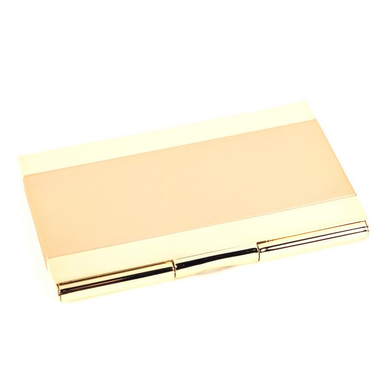 Pocket Business Card Holder Gold