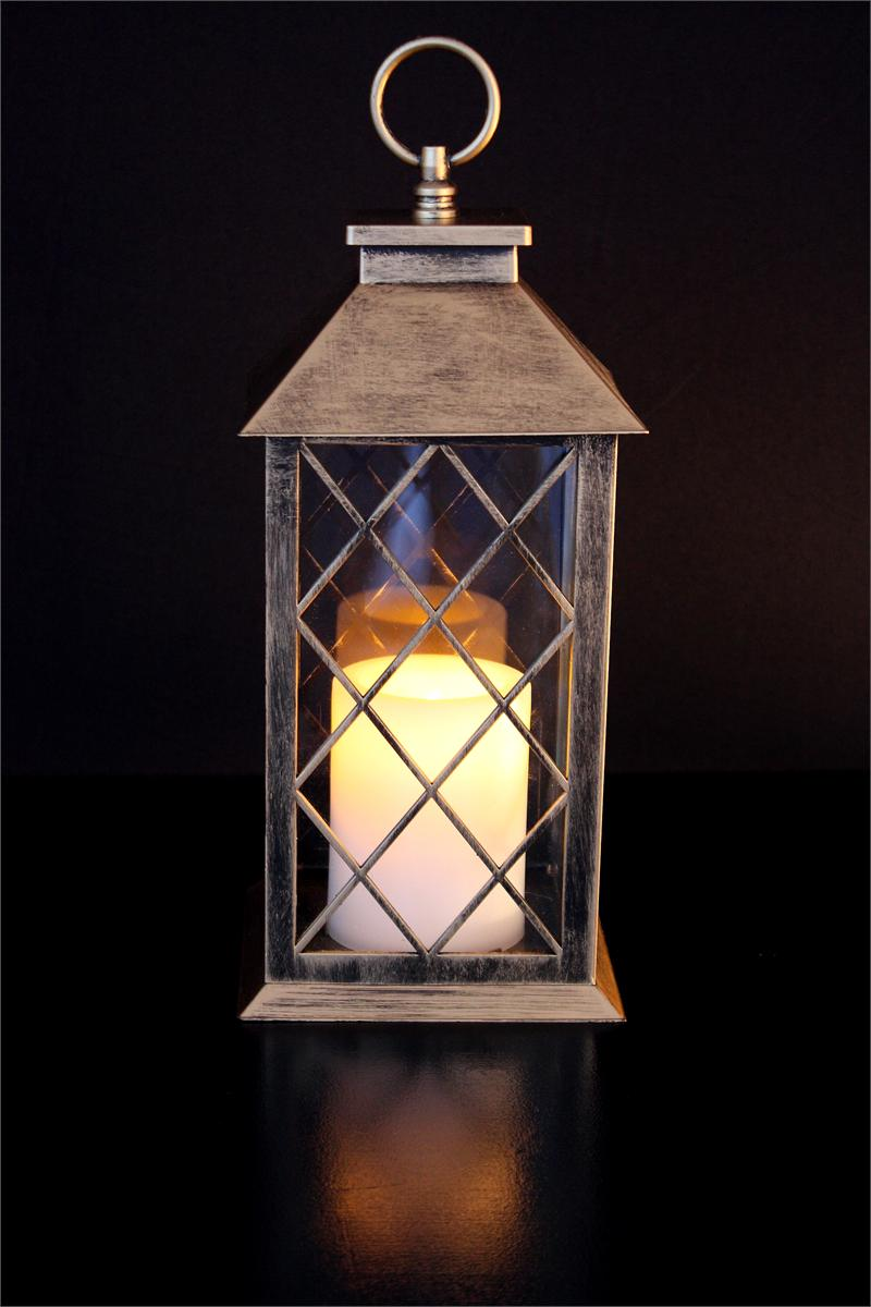 13 Quot Bronze Colonial Lantern Flameless Candles Accessories