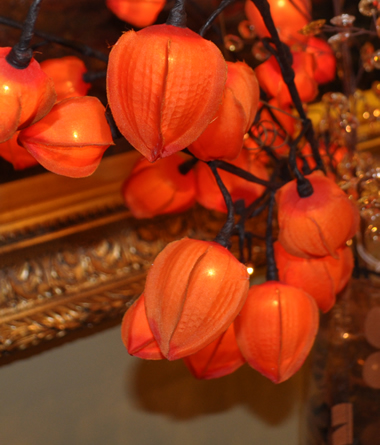 Red Chinese Lantern 30 Lights Lighted Branches Chinese
