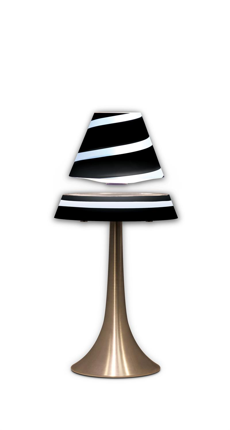 Floating lamp magnetic levitating lamp shade levitron anti floating lamp magnetic levitating black lamp shade levitron anti gravity light geotapseo Image collections