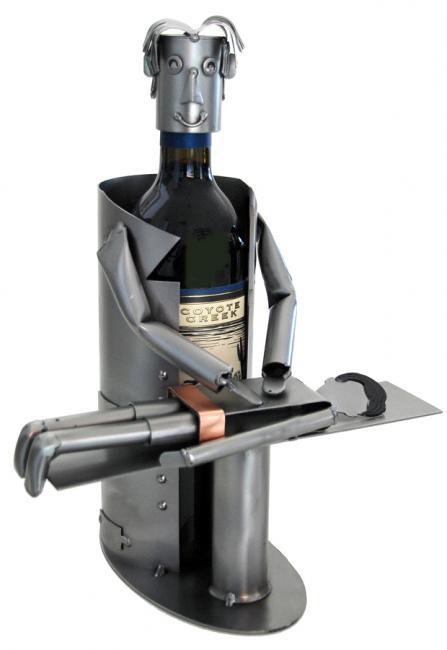 Chiropractor Metal Wine Caddy Professional Metal Wine Caddys