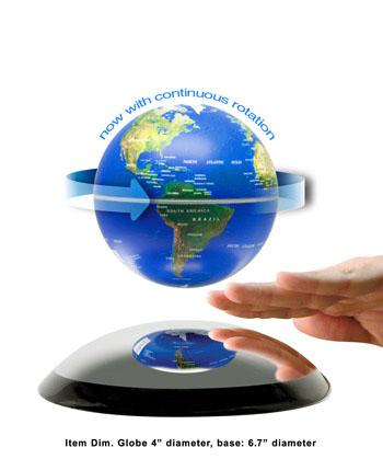 Levitron Ion Levitating Globe By Worldtohome Com