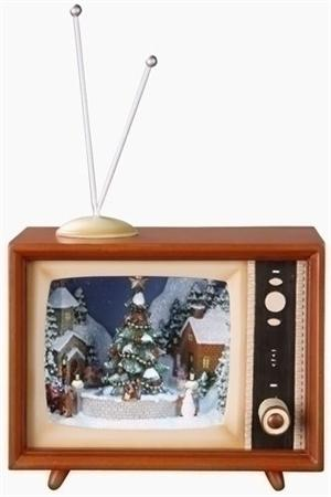 "3.5"" Musical TV with Sledders Animated Musical Television Sets"