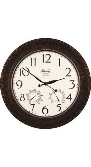 Weather Mate Clock Outdoor Clocks