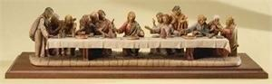 "5.5"" Painted Last Supper Set Last Supper Sets"