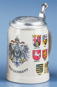 Old Germany Stein German Cities Steins