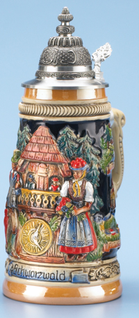 Schwarzwald Stein German Cities Steins