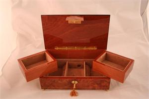 Brown Small Music Box (Style 872) Music Boxes