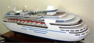 Majesty of the Seas Model Ships