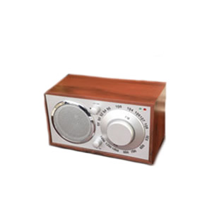 Large Dial AM/FM Radio Retro Music Systems
