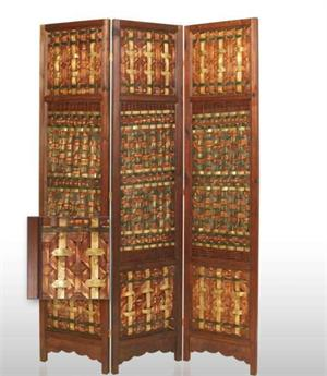Palm Brass Room Dividers