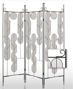 Iron Art Room Dividers