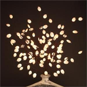 Silvar Dollar 60 Lights Silver Dollar Branch Lights