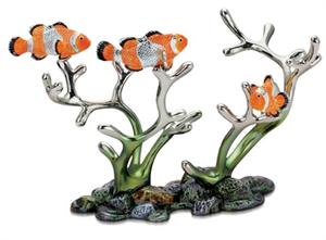 Clown Fish Wine Bottle Holder Decorative Wine Bottle Caddy Holders