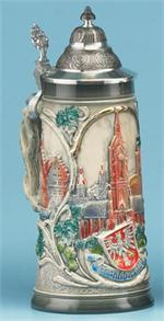Frankfurt Stein German Cities Steins