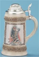 Bob Patterson Firefighter Stein Professional Steins