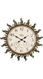 Sunburst Clock Outdoor Clocks