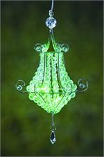 Anywhere Mini Chandelier Green Indoor/Outdoor LED Hanging Lights