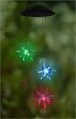 Anywhere 3-Star Light w/Changing LED Lights Indoor/Outdoor LED Hanging Lights