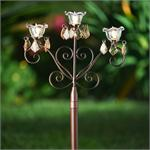 Anywhere Triple Scroll Garden Stake Outdoor LED Garden Stakes