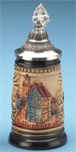 Rothenberg Rustikal Mini Stein German Cities Steins