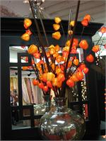 Red Chinese Lantern 30 Lights Lighted Branches Chinese Lantern Lighted Branches
