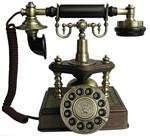 1894 Artesian Antique Telephone European Antique Brass Phones