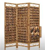 Parallel Palm Bark Room Dividers