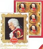 Mozart Kugeln 6 Pc. Portrait Box Gourmet Chocolates Gourmet Chocolates