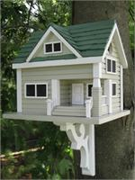 Bungalow Architectural Birdhouse Architectural Birdhouse Mansions