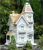 Victorian Manor Mansion Birdhouse Architectural Birdhouse Mansions