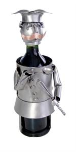 Chef Metal Wine Bottle Holder Professional Metal Wine Caddys
