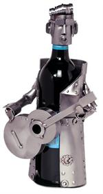 Elvis Wine Caddy Metal Wine Bottle Holders