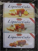 Liqueur Cake Three Pack Liqueur Cakes